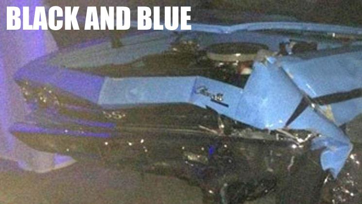 rides cars wiz khalifa chevelle crash wreck hit and run black and blue