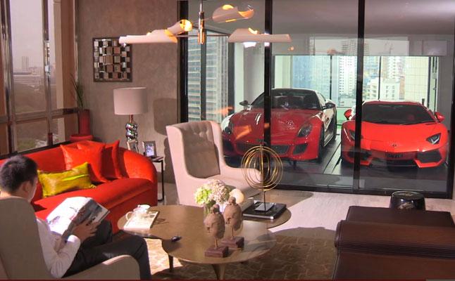 rides cars hamilton-towers-singapore drive in skyscraper garage