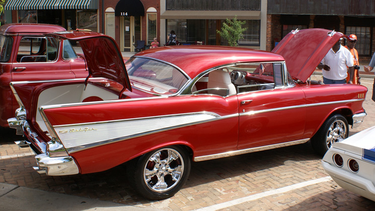 rides custom cars '57 57 chevy chevrolet bel air old school american usa