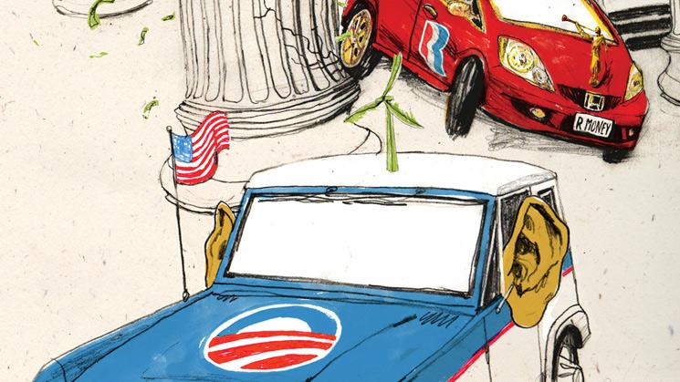 rides cars ford bronco barack obama broncobama honda fit mitt romney