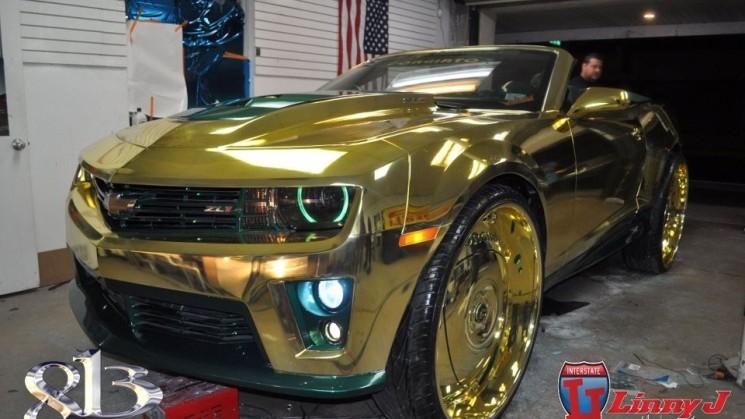 rides gold camaro linny j 813 customs zl1