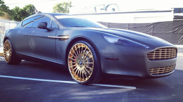 rides aston martin rapide gold forgiato disegno meek mill jai's auto body repair inc