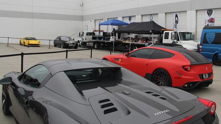 wtw car show california los angeles luxury rides ferrari lamborghini