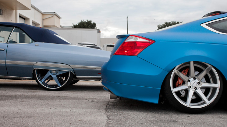 RIDES, Stance:Nation, Vossen, Slammered Inc, Infamous Customs, Forgiato, Stance, Donk
