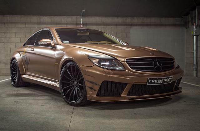Mercedes-Benz, Mercedes, Benz, Rides, Custom, Forgiato, CL65