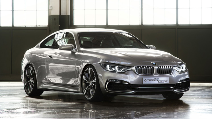 BMW Concept 4 Series Detroit NAIAS Rides