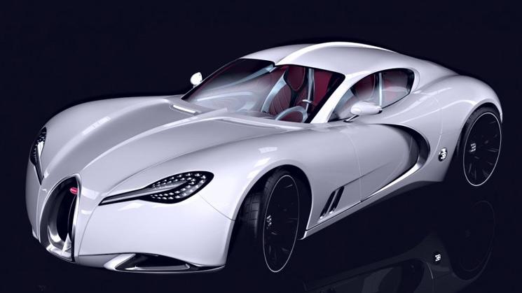 bugatti gangloff concept veyron replacement successor type 57