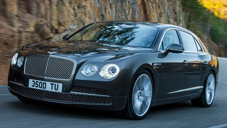 bentley continental flying spur 2014 geneva sedan new fresh
