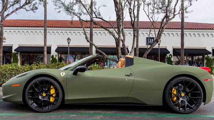 Ferrari, 453, Spider, Platinum, Motorsports, Rides, Custom