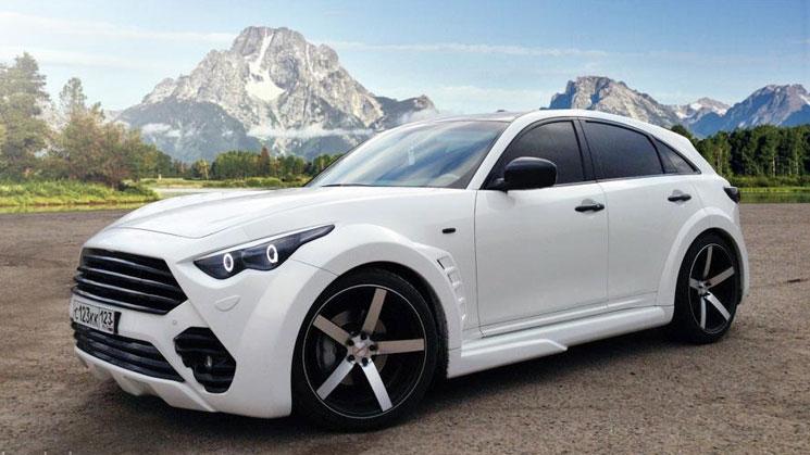 vossen infiniti fx rus wheels rides white vvscv3 22 inch russia white