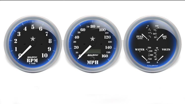 auto meter custom gauges rides designs
