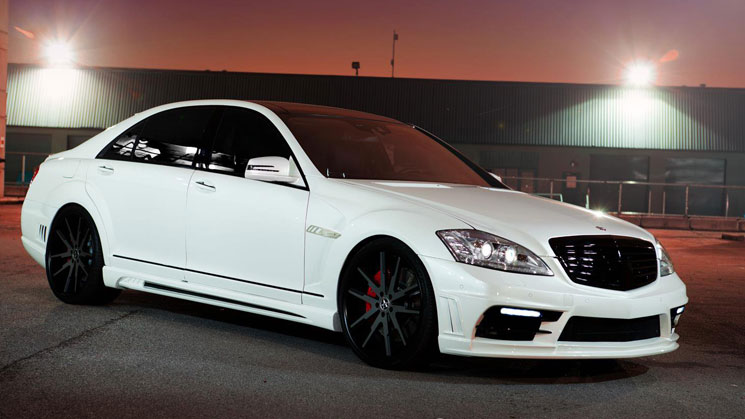 rides white mercedes benz s63 amg vellano 22 inch vku sr auto sport wald international black bison body kit