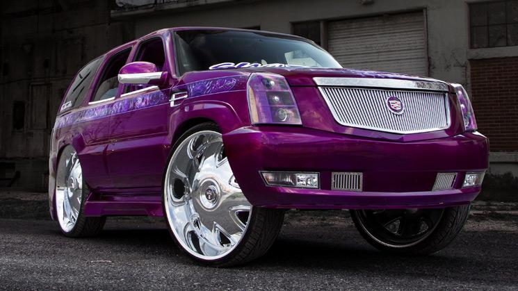 2002, Cadillac, Escalade, Custom, Dub, Rides