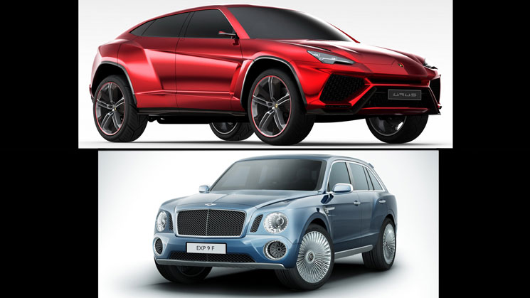 bentley-lamborghini suv