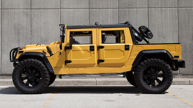 rides yellow hummer h1 adrian toronto 20hz audio