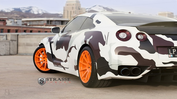 Strasse Forged Wheels Camo GTR 8