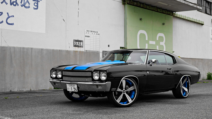 Chevrolet, Chevelle, japan, rides
