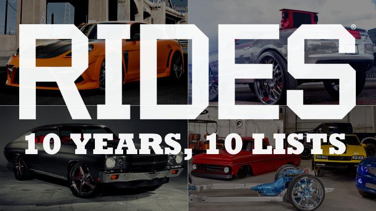 rides 10 years 10 best custom shops list anniversary