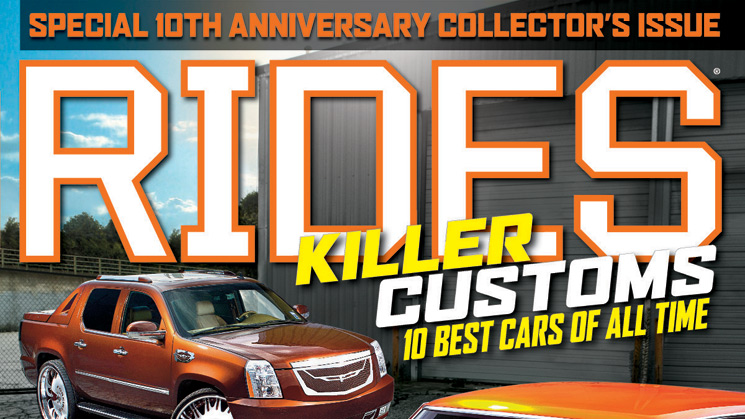 rides september 2013 issue 64 cover escalade chevelle killer customs 10 best cars