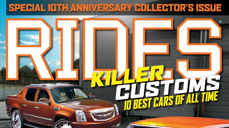 rides september 2013 issue 64 cover escalade chevelle killer customs 10 best cars