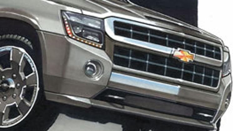 pickup-truck-chevy-silverado-front