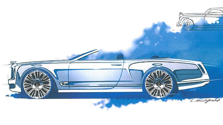 rides bentley mulsanne convertible vert four door coupe
