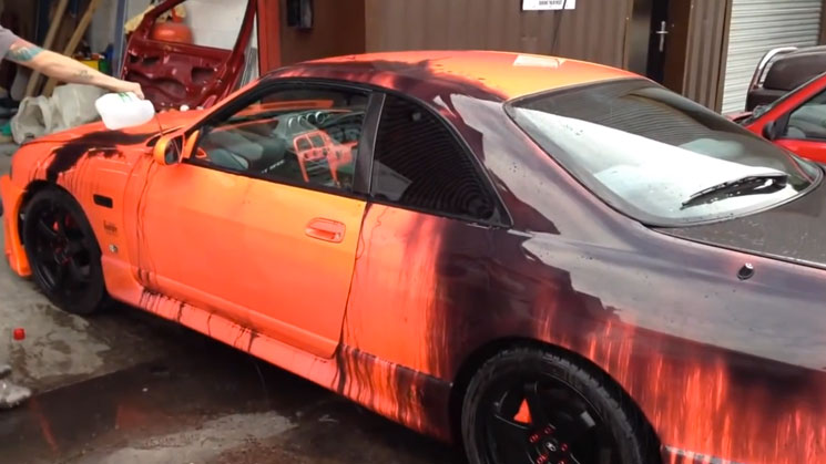 nissan skyline r33 color shifters hot wheels heat sensitive rides