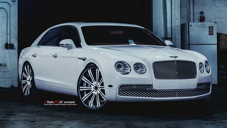 2014 Bentley Flying Spur On Vellano 24s By MC Customs