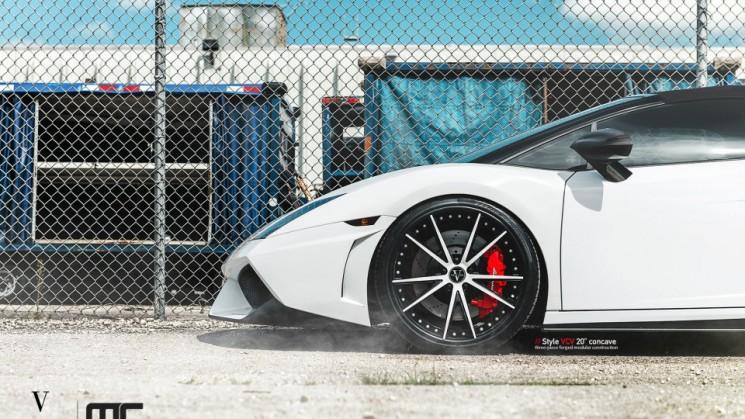 rides magazine vellano vcv 20-inch concave wheel mc customs lamborghini gallardo