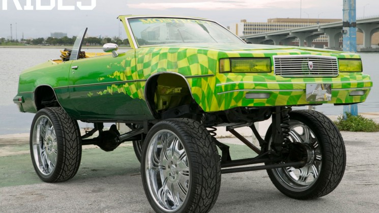 rides magazine montecut montekut oldsmobile cutlass chevrolet chevy monte carlo hi-riser karl krants first car on 28s