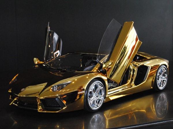 75 million dollar gold lamborghini aventador