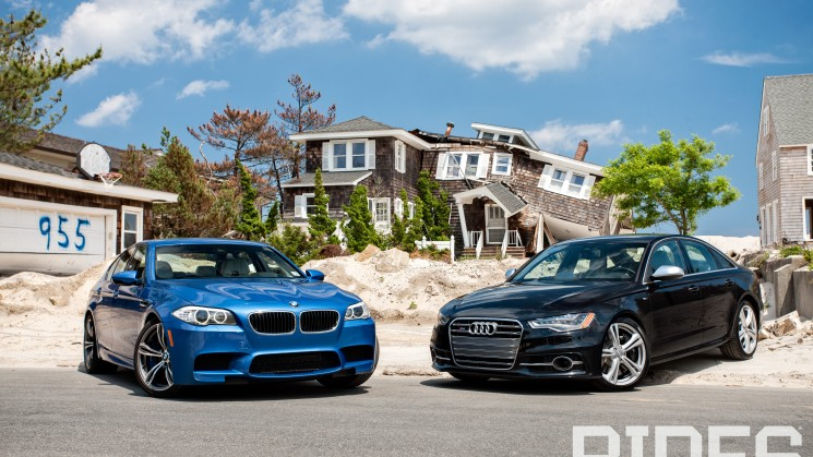 RIDES, Audi, BMW, M5, S6, Review