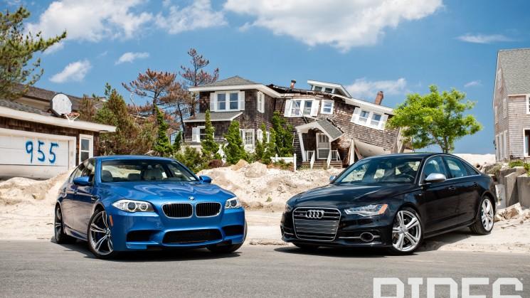 RIDES, Audi, BMW, M5, S6, Review