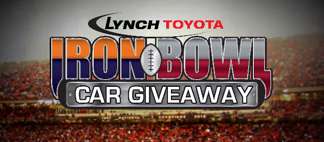 Auburn, Alabama, Iron Bowl, Toyota