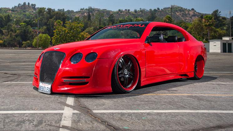 nokturnal car club rides magazine custom modified bentley lexus gs 400 bentlex