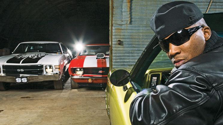1970 Chevrolet Cutlass, 1971 Chevrolet Chevelle, 1969 Chevrolet Camaro SS young jeezy rides magazine