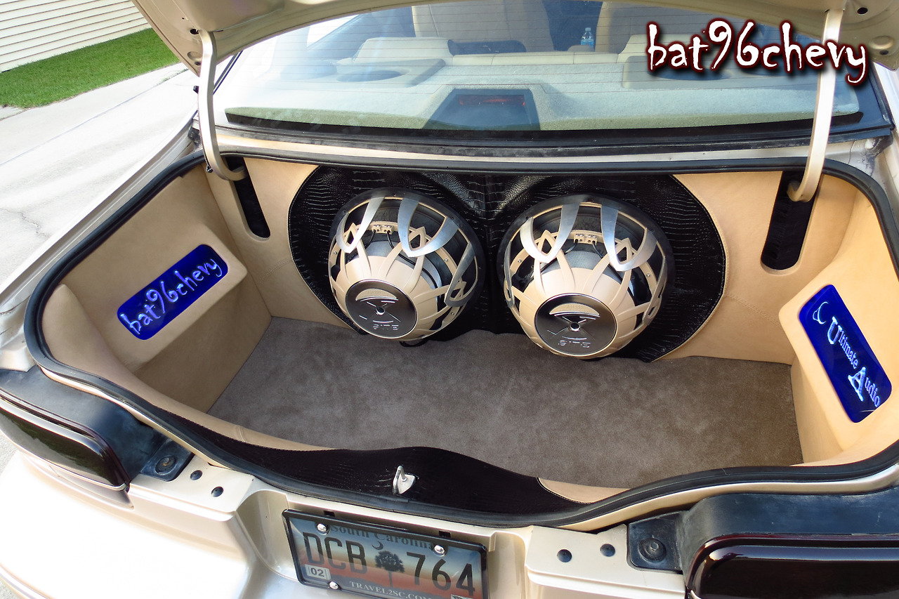 Custom Bubble Trunk By Ultimate Audio Rides Magazine