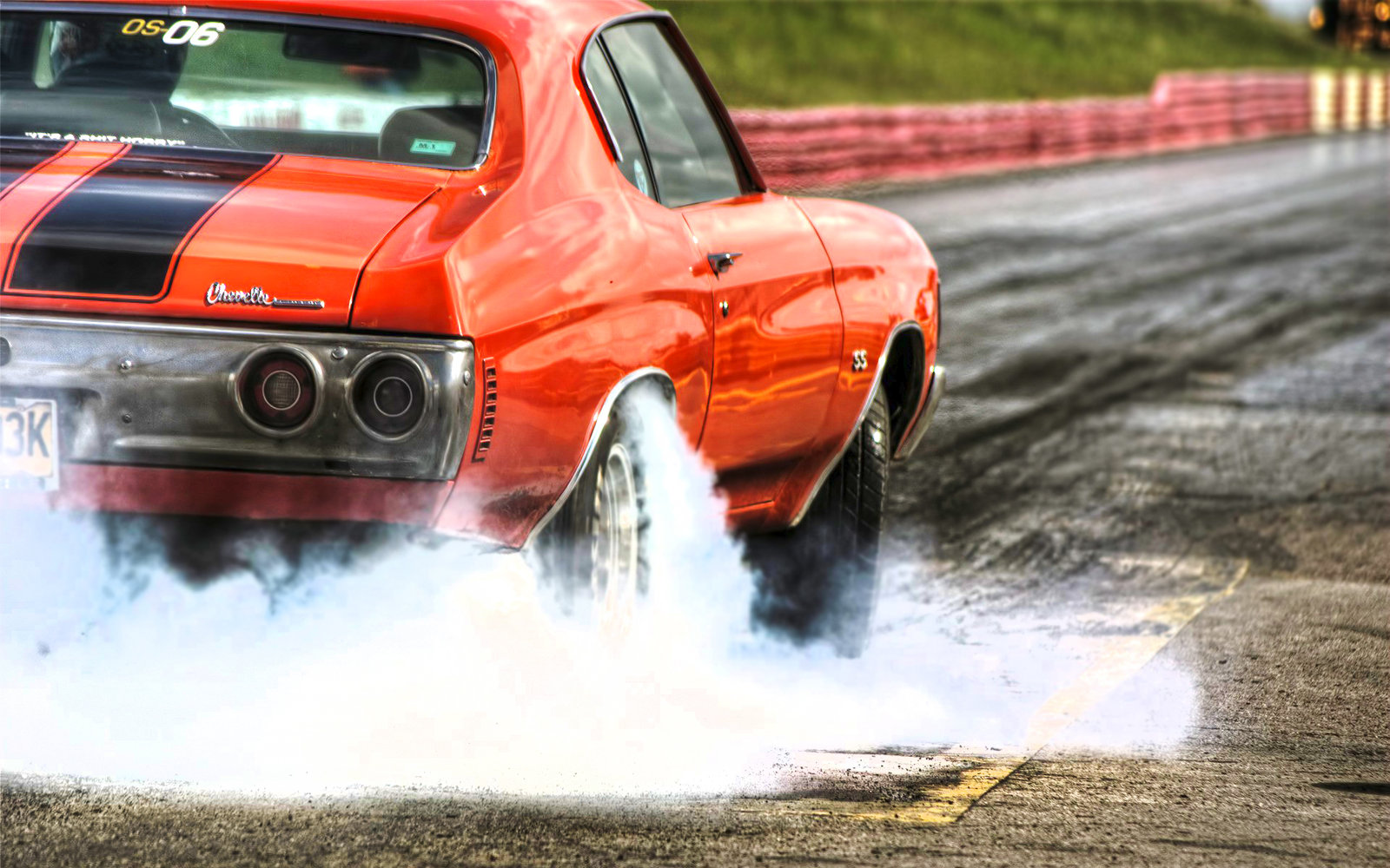 Mean Muscle Car Burnouts Rides Magazine