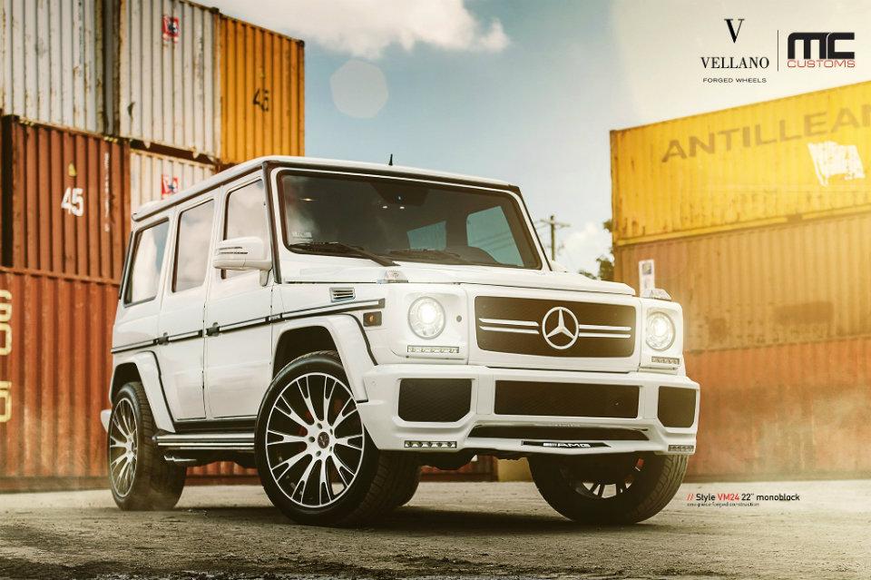 mercedes benz g63 amg on vellano wheels by mc customs rides magazine