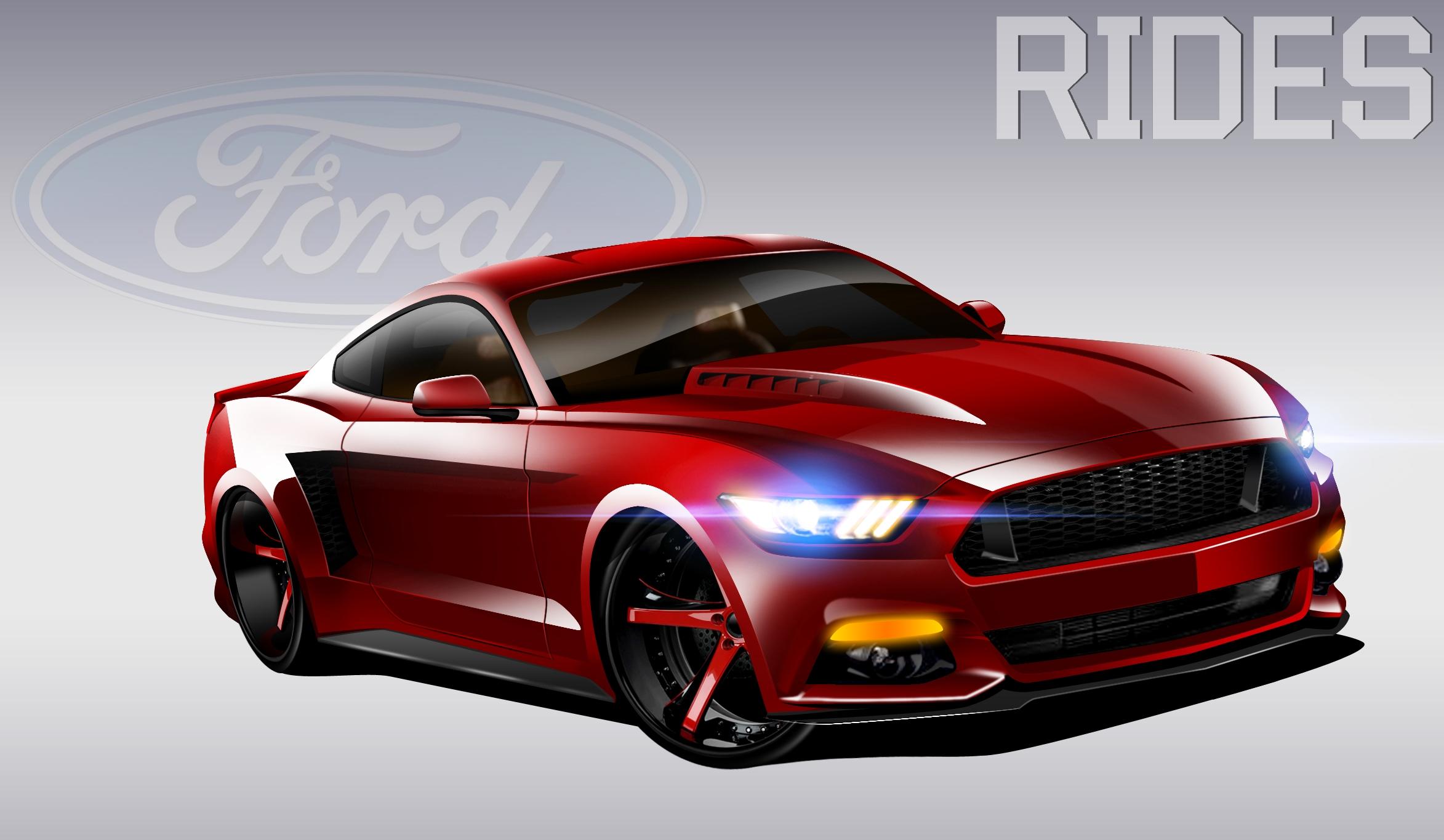 Widebody 2015 Mustang Concept | RIDES Remix - Rides Magazine