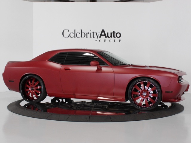 matte crimson challenger srt8 for sale friday rides magazine. Black Bedroom Furniture Sets. Home Design Ideas