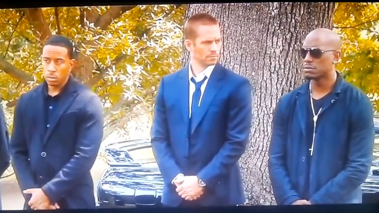 rides magazine fast and furious 7 leaked scene paul walker