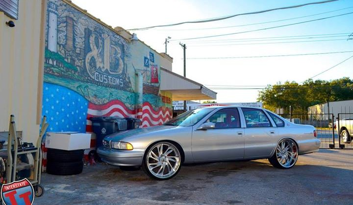 1996 Impala Ss On 24 Inch Asantis By 813 Customs