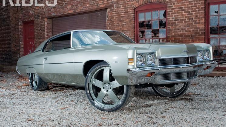 rides donk box & bubble magazine chevy chevrolet imp impala custom car evan evo yates forgiato georgia