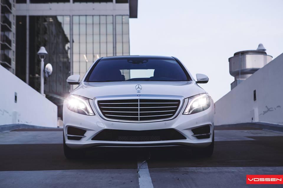 Mercedes Benz S550 Executive Package On Vossen Cvt Wheels