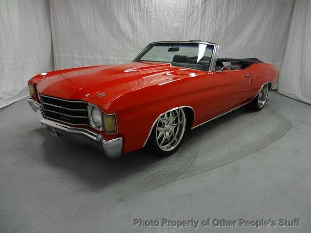 Bagged 1972 Chevy Chevelle (Malibu) Convertible | For Sale ...