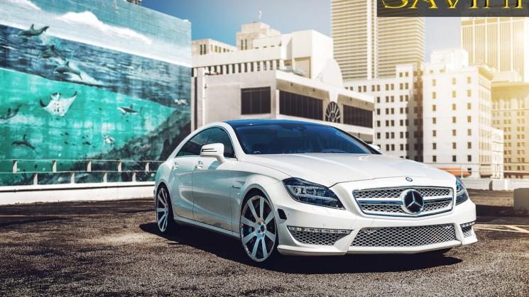 Mercedes-Benz CLS63 savini rides magazine ultimate auto