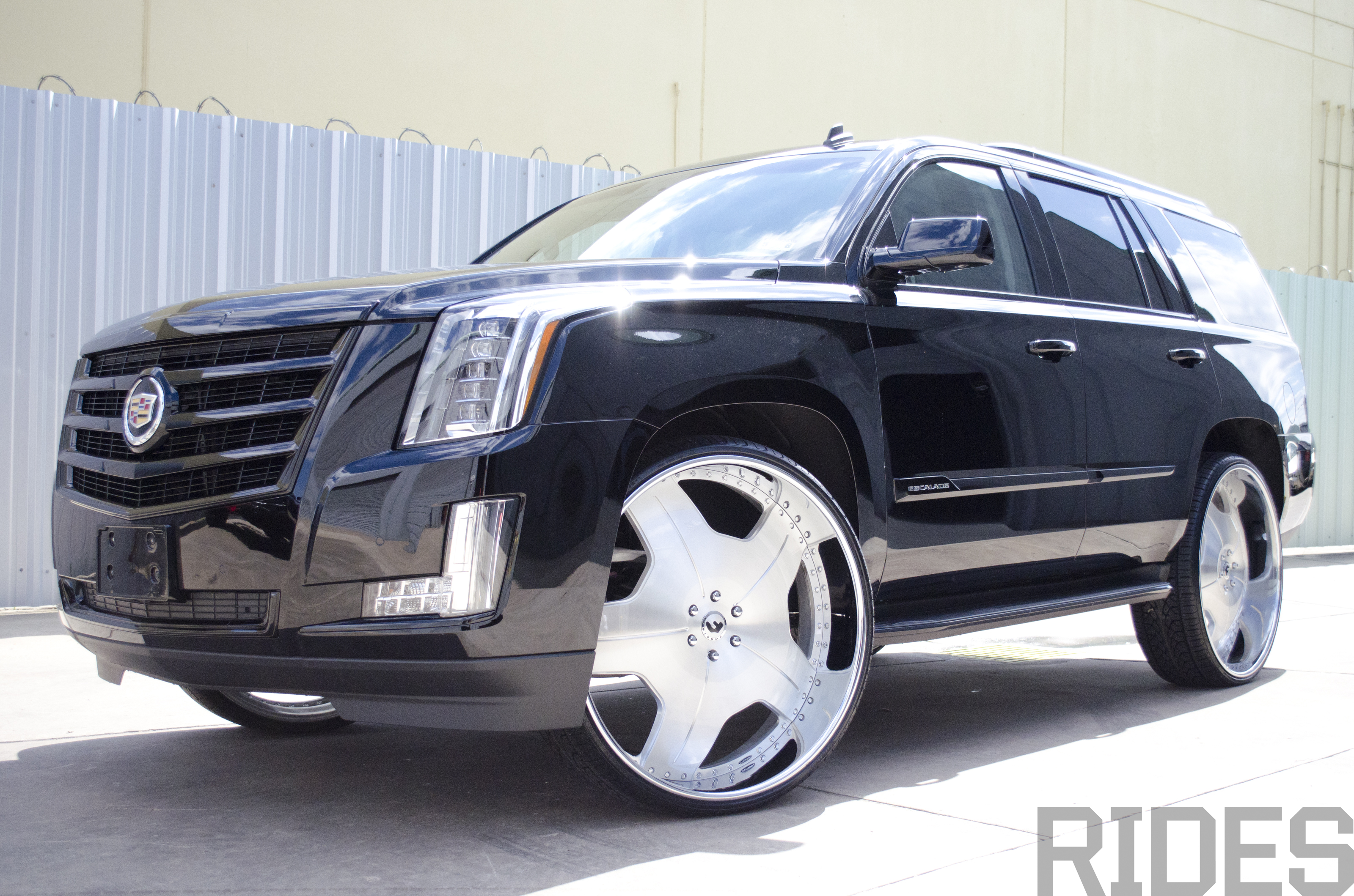 2015 Cadillac Escalade On 30 Inch Forgiato Wheels Rides