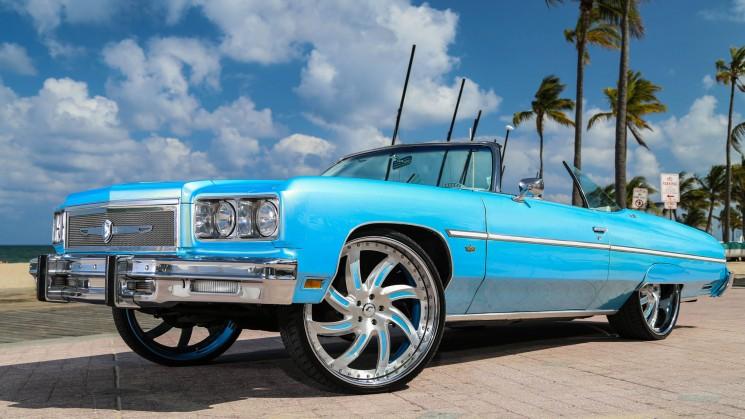 rides magazine solomon lunger forgiato coast to coast customs rims squat outrageous bondi blue azioni chevrolet caprice chevy donk