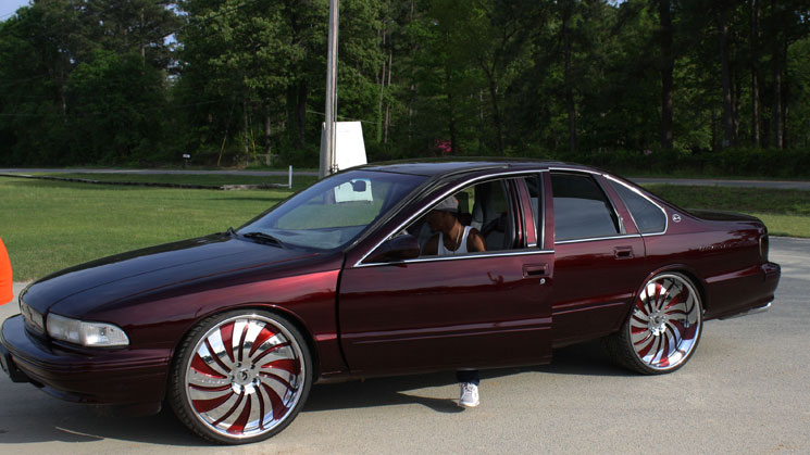 1996 chevrolet impala forgiato candy brandywine bbody bubble chevy south carolina mr. perfect customs